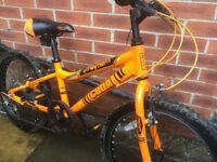 Cuda Mayhem 20inch 6speed bike