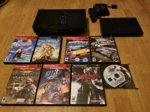 Play Station 2 For Sale Or Trade Games Included