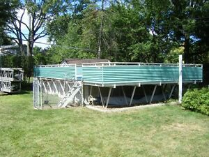Above Ground Pool Decks Buy Sell Items Tickets Or