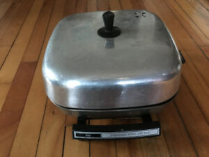 Sears  Electric Stainless  Steel Fry Pan