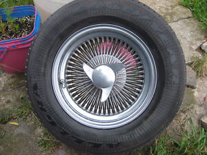 SPOKE WHEELS ON 14 INCH RIMS