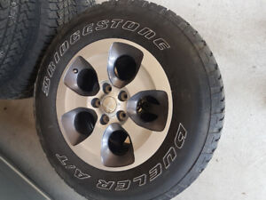 Jeep Wrangler -5 tires for $1000.00