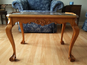 Antique Claw and Ball Coffee Table
