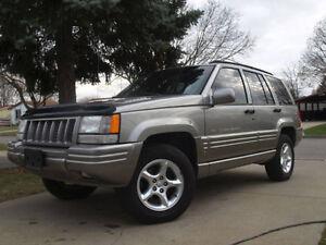 1998 Jeep Grand Cherokee 5.9limited RARE