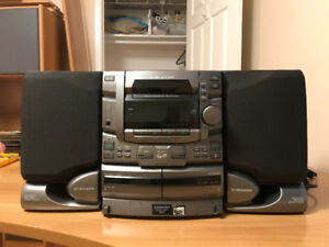 Pioneer 25-disc CD player | Stereo System | Cassette Bass Reflex