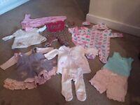 Girls bundle nb-3-6 months