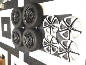 Ensemble de roues - pneus - enjoliveur d'origine de Honda Civic