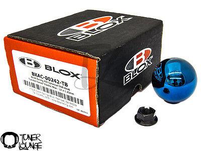 BLOX RACING 490 LIMITED SPHERICAL SHIFT KNOB TORCH BLUE 12X1.25MM TOYOTA SUBARU