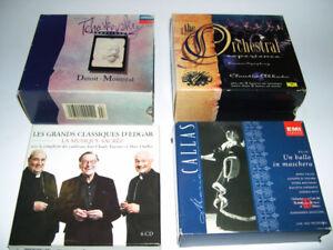 Musique Classique - 4 Coffret 18 cds