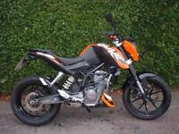 KTM 125 cc Duke Naked MOTORCYCLE