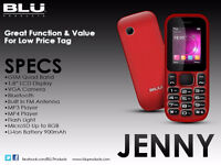 Brand New BLU Phone:  Jenny Tv, Dual Sim card,Rogers,No contract