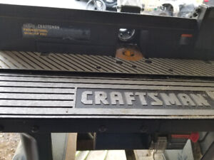 Tools Craftsman pro series router table with pro series router