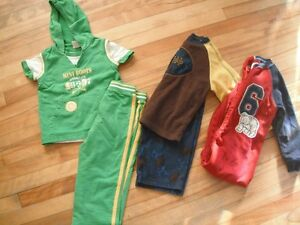 boys size 3, outfit and 2 pyjamas