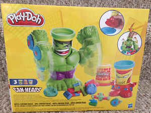 New! Play-Doh marvel can heads set Kitchener / Waterloo Kitchener Area image 2