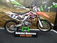 Honda CRF 450 Motocross Bike Very clean example Full Yoshi exhaust system