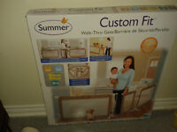 BRAND NEW/ NEVER used!! Large adjustable Baby Gate $100