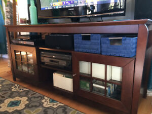 Like new TV console entertainment unit