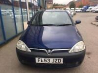Vauxhall Corsa 1.7DTi 16v SXi 5 DOOR - 2003 53-REG - 8 MONTHS MOT