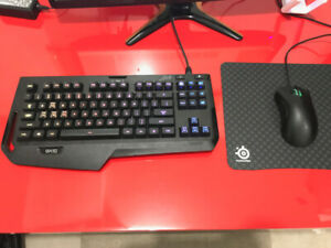 Gaming Keyboard && Gaming Mouse and Mouse pad