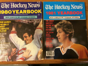Hockey News Yearbook Collection