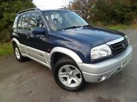 SUZUKI GRAND VITARA 2.0 16V FULL SERVICE HISTORY ONLY 2 OWNERS FROM NEW, Blue, A