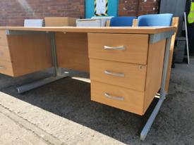 Desks £45 each 140cm by 80cm