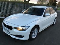 BMW 3 SERIES 320d EfficientDynamics Good / Bad Credit Car Finance (white) 2014