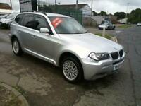 BMW X3 M SPORT 2.0 DIESEL AUTO 4X4 5 DOOR FSH 58 PLATE