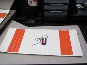 1997 30Th Anniversary Camaro Cargo Trophy Mat White with Orange stripes NEW!