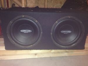Concept Subs for sale