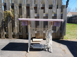 Antique New Williams Sewing Table - One of a Kind!!