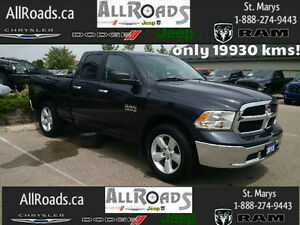2015 Ram 1500 Quad SLT 4x4, 19930kms with 20's!