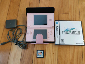 Nintendo DS Lite Bundle w/ Final Fantasy 3 & Cooking Mama