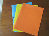 New and Used Report Covers in Various Colours