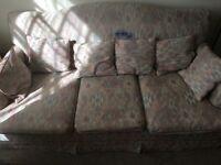 Sofa 3 seats bed FREE