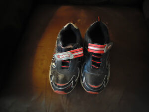 Boys Size 12 Hot Wheels Sneakers