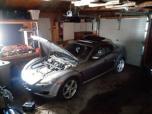 Parts from 2004 Mazda rx8