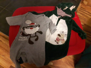 3-6 month Christmas outfits