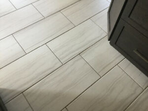 Beautiful Porcelain Tile - 190 sq ft