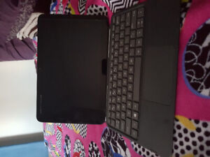 HP tablet with detachable keyboard