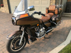 Great Old Gold Wing, Low Kms