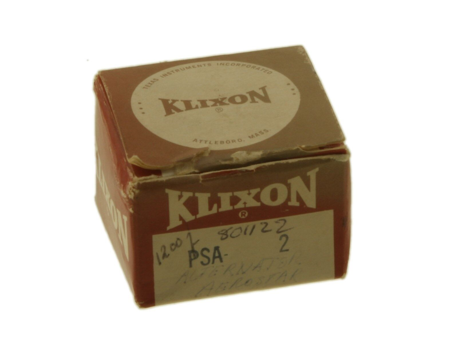 NEW KLIXON PSA-2 CIRCUIT BREAKER