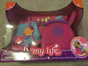 My Life spa chair playset