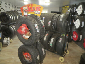 265/70R17 TRUCK TIRE SALE $124.00 EACH WITH ROAD HAZARD