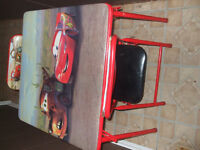 CARS ...TABLE AND CHAIRS SET