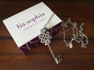 Lia Sophia Pinnacle - Key - Necklace