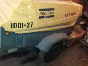 Atlas Copco XAS 185 Air Compressor