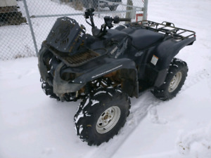 TRADE grizzly 700 for Skidoo SUMMIT or MXZ
