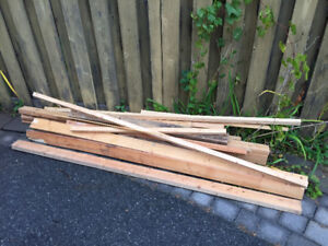 Free 2x4s and other wood
