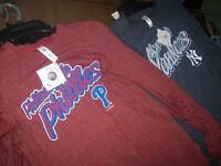 LOT 9 MLB LONGSLEEVES NEW YORK YANKEES + PHILADELPHIA PHILLIES City of Montréal Greater Montréal Preview